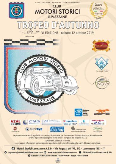 Trofeo d'autunno – sabato 12 ottobre 2019