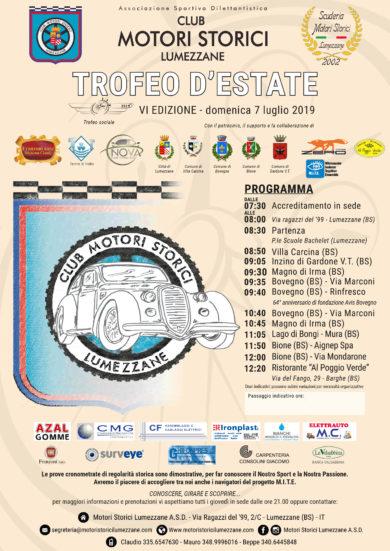 Trofeo d'Estate 2019 – Le classifiche